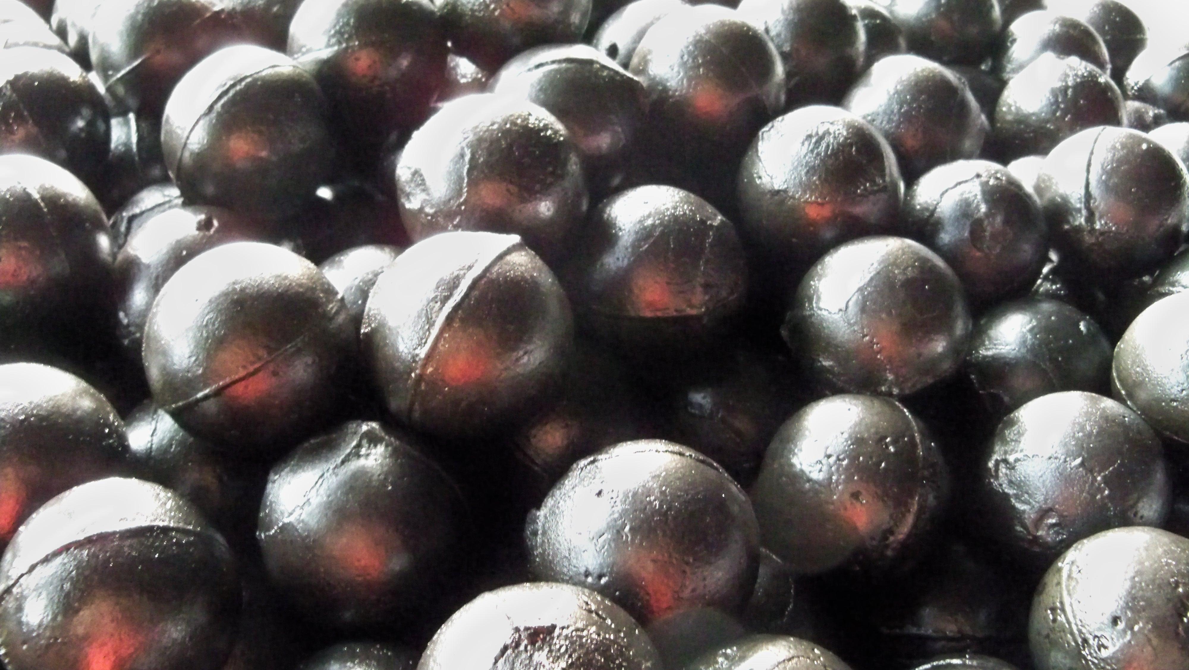 Chrome alloy grinding steel balls